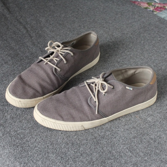 Toms Shoes | Toms Mens Carlo Grey Shoes
